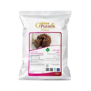 پودر کیک کاکائویی تگرال ساتین شکلات بسته 2.5 کیلوگرمی