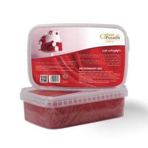 دکوفوندانت قرمز بسته 1 کیلوگرمی