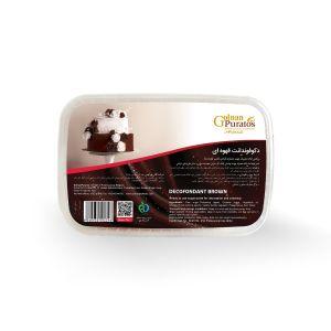 دکوفوندانت قهوه ای بسته بندی 1 کیلوگرمی