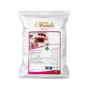 پودر کیک ردولوت تگرال ساتین کرم کیک ردولوت بسته 2.5 کیلوگرمی