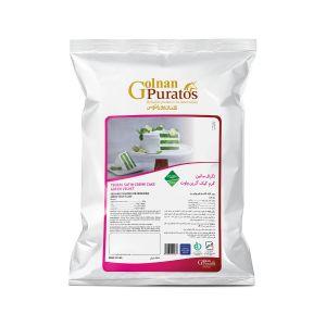 پودر کیک گرین ولوت تگرال ساتین کرم کیک  گرین ولوت بسته 2.5 کیلوگرمی